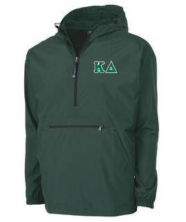 Kappa Delta Tackle Twill Lettered Pack N Go Pullover