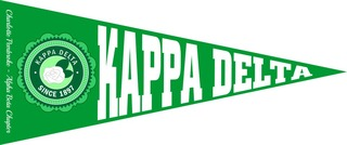 Kappa Delta Wall Pennants