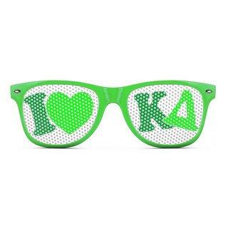 Kappa Delta Wayfarer Style Lens Sunglasses