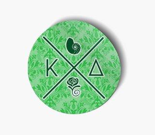 Kappa Delta Well Balanced Round Decals