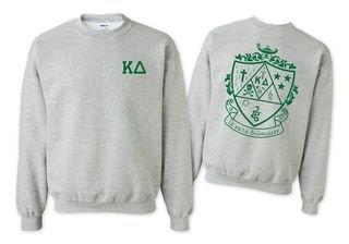 Kappa Delta World Famous Crest - Shield Crewneck Sweatshirt- $25!