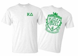Kappa Delta World Famous Greek Crest T-Shirts - MADE FAST!