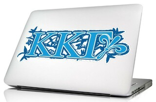 Kappa Kappa Gamma 10 x 8 Laptop Skin/Wall Decal