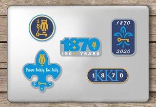 Kappa Kappa Gamma - 150 Years Sticker Sheet