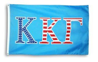 Kappa Kappa Gamma 3 X 5 USA Flag