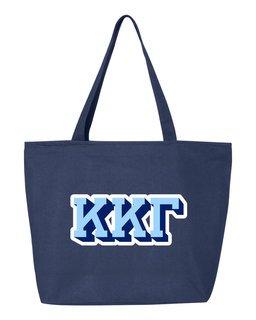 Kappa Kappa Gamma 3D Letter Tote Bag