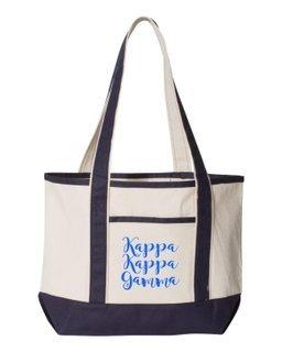 Kappa Kappa Gamma Sailing Tote Bag