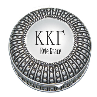 Kappa Kappa Gamma Antique Beaded Pin Box