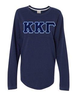 DISCOUNT-Kappa Kappa Gamma Athena French Terry Dolman Sleeve Sweatshirt