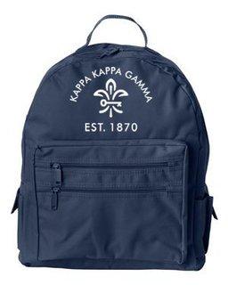 DISCOUNT-Kappa Kappa Gamma Mascot Backpack