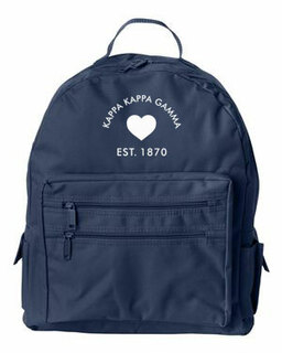 DISCOUNT-Kappa Kappa Gamma Mascot Backpack