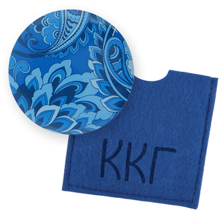 Kappa Kappa Gamma Button Mirror