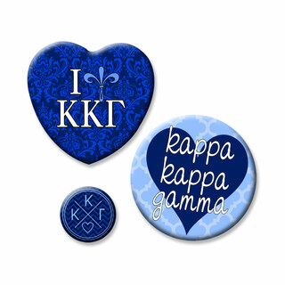 Kappa Kappa Gamma Button Set