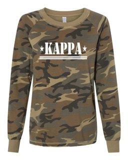 Kappa Kappa Gamma Camo Crew