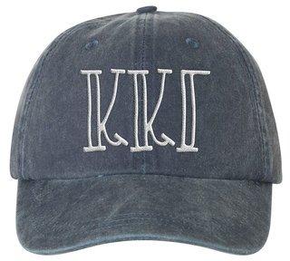 Kappa Kappa Gamma Carson Greek Letter Hats