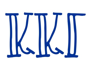 Kappa Kappa Gamma Carson Greek Sticker