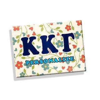 Kappa Kappa Gamma Ceramic Magnet