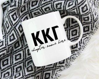 Kappa Kappa Gamma Chapter Mug