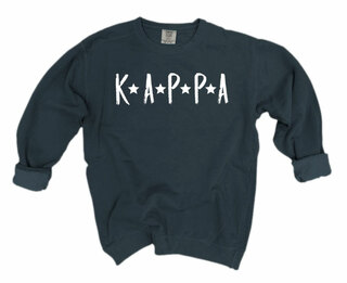 Kappa Kappa Gamma Comfort Colors Starry Night Crew