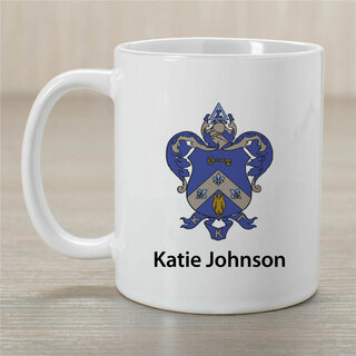 Kappa Kappa Gamma Crest Coffee Mug
