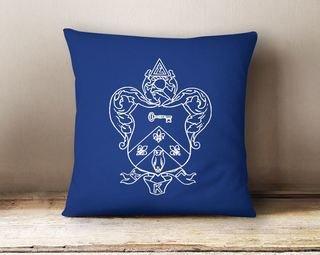 Kappa Kappa Gamma Crest - Shield Colored Pillow