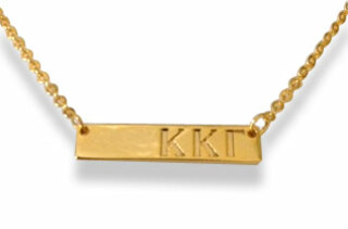Kappa Kappa Gamma Cross Bar Necklace