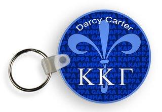 Kappa Kappa Gamma Custom Mascot Keychains
