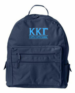 Kappa Kappa Gamma Custom Text Backpack