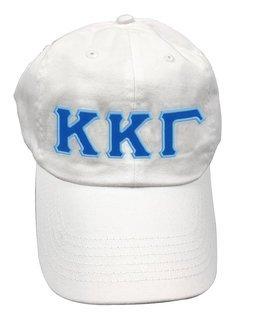 Kappa Kappa Gamma Double Greek Letter Cap