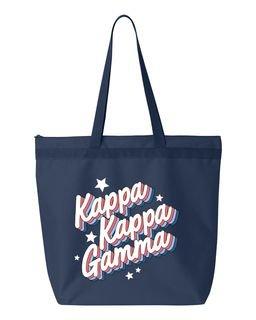 Kappa Kappa Gamma Flashback Tote Bag