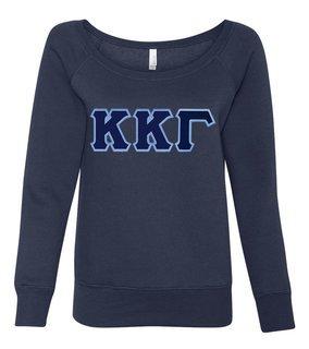 DISCOUNT-Kappa Kappa Gamma Fleece Wideneck Sweatshirt