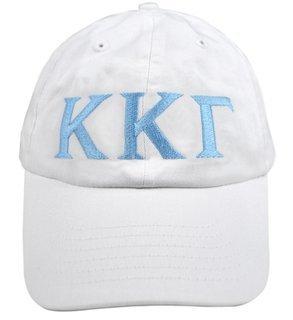 Kappa Kappa Gamma Greek Letter Hat