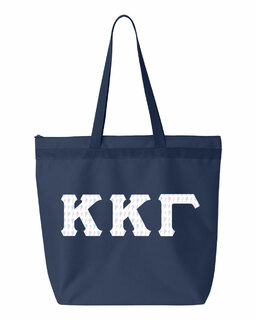 Kappa Kappa Gamma Greek Letter Liberty Bag