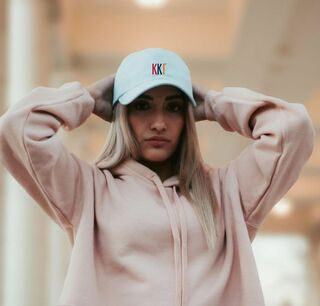 Kappa Kappa Gamma Handcraft Rainbow Cap