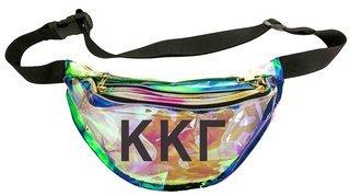 Kappa Kappa Gamma Holographic Fanny Pack