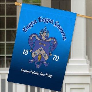 Kappa Kappa Gamma House Flag