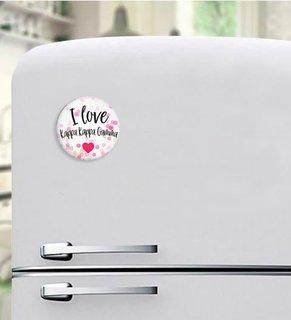 Kappa Kappa Gamma I Love Magnet