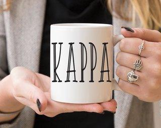 Kappa Kappa Gamma Inline Coffee Mug