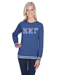 Kappa Kappa Gamma J. America Relay Crewneck Sweatshirt