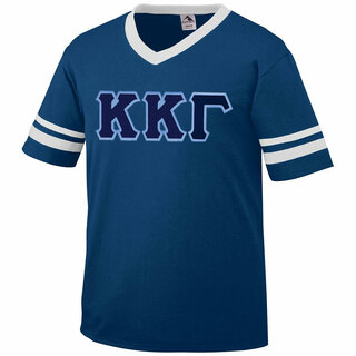 DISCOUNT-Kappa Kappa Gamma Jersey With Greek Applique Letters