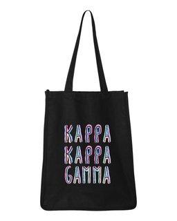 Kappa Kappa Gamma Jumbo All In Tote Bag