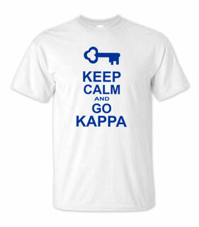 Kappa Kappa Gamma Keep Calm T-Shirts