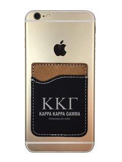 Kappa Kappa Gamma Leatherette Phone Wallet