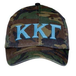 Kappa Kappa Gamma Lettered Camouflage Hat