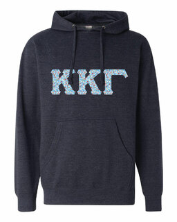 Kappa Kappa Gamma Lettered Independent Trading Co. Hooded Pullover Sweatshirt