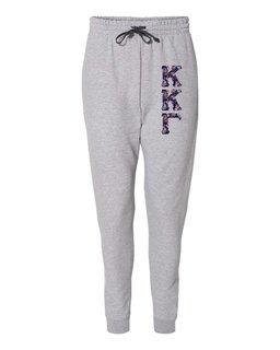 """Kappa Kappa Gamma Lettered Joggers (3"""" Letters)"""