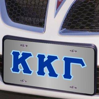 Kappa Kappa Gamma Lettered License Cover