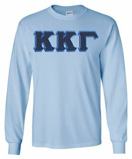 Kappa Kappa Gamma Lettered Long Sleeve Shirt