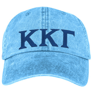 Kappa Kappa Gamma Lettered Premium Pastel Hat