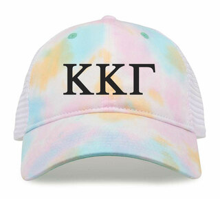 Kappa Kappa Gamma Lettered Rainbow Cap